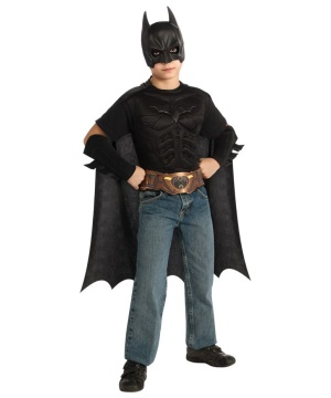 Batman Boys Muscle Costume Kit