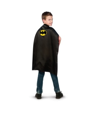 Batman Superman Reversible Cape