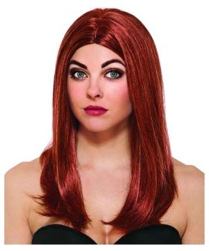 Black Widow Womens Costume Wig
