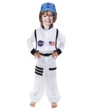 Boys Astronaut Space Suit Costume