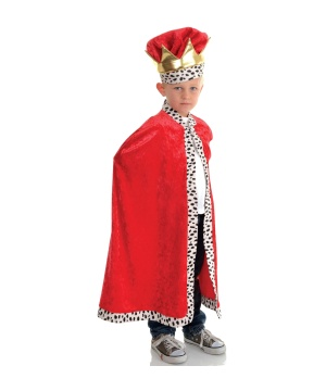 Boys King Cape