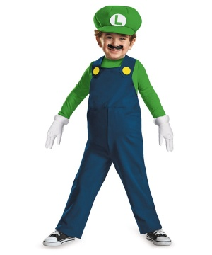 Boys Luigi Toddler Costume