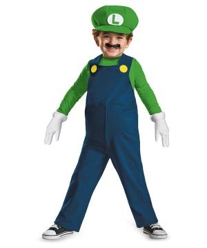 Boys Luigi Toddler Costume