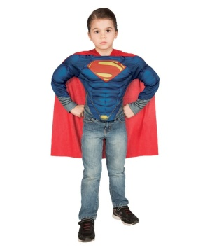 Boy's Superman Muscle Shirt