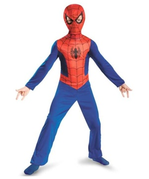 Ultimate Spider Man Economy Line Boys Costume