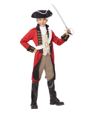 British Redcoat Boys Costume