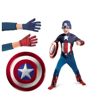 Captain America Action Hero Costume Kit