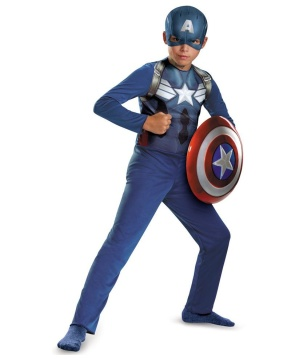Captain America Movie 2 Economy Boys Costume