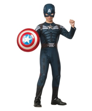 Captain America Stealth Boys Costume