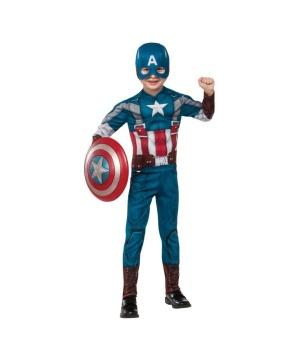 Captain America Winter Soldier deluxe Boys Costume