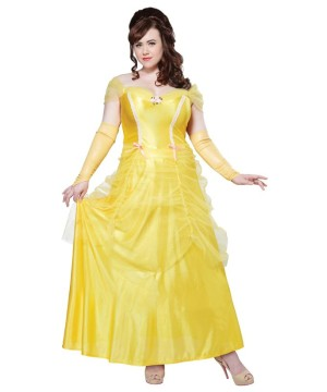 Classic plus size Beauty Princess Costume