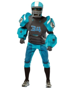 Cletus Fox Sports Robot Men's Costume