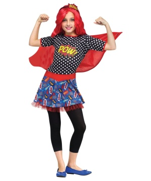 Comic Book Cutie Girls Costume