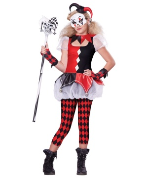 Wicked Jester Teen Costume