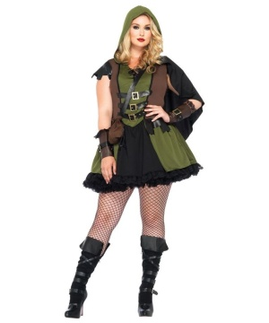 Darling Robin Hood Womens Costume plus size deluxe