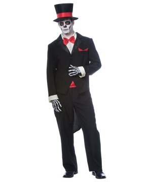 Day of the Dead Groom Men's Costume