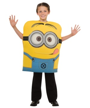 Despicable Me 2 Minion Dave Boys Costume