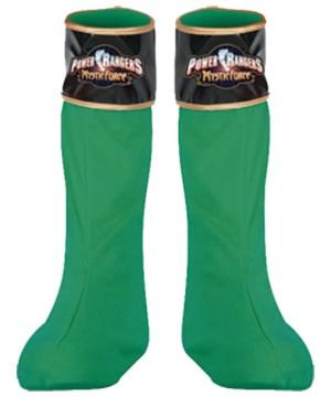 Green Ranger Boot Covers Kids