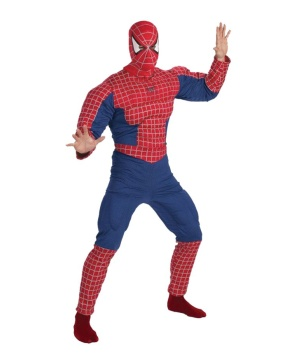 Spiderman Muscle Teen/ Men Costume deluxe