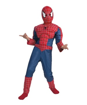 Spiderman Muscle Boys Costume deluxe