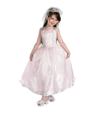 Barbie My Wedding Day Girls Costume deluxe