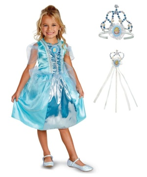 Disney Princess for a Day Cinderella Girls Costume Kit