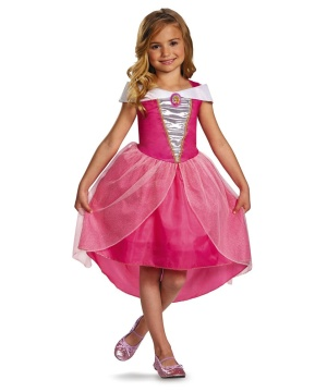 disney princess aurora girl costume