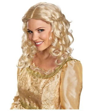 Disneys Maleficent Aurora Womens Wig