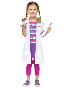 Dolly Doctor Toddler Girls Costume