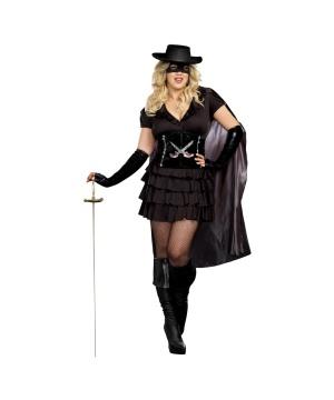 Double Edged Diva plus size Womens Costume