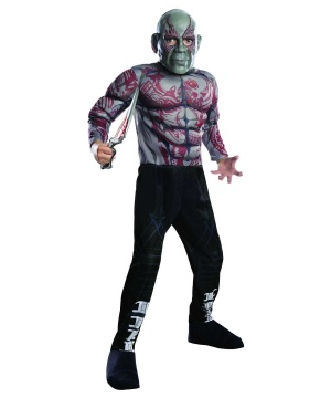 Guardians of the Galaxy Drax the Destroyer Boys Costume