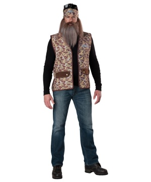 Duck Dynasty Phil Robertson Mens Costume