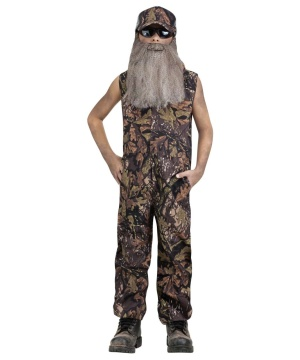 Duck Hunter Jumpsuit Boys Costume deluxe