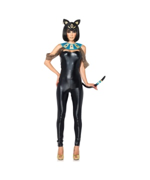 Egyptian Cat Goddess Womens Costume deluxe