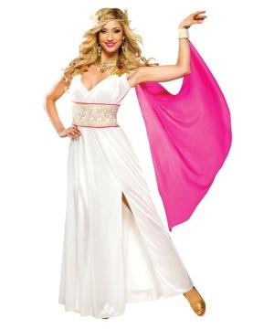 Elegant Grecian Goddess Womens Costume