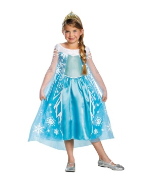 Elsa Girls Costume Deluxe