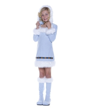 Eskimo Princess Girls Costume