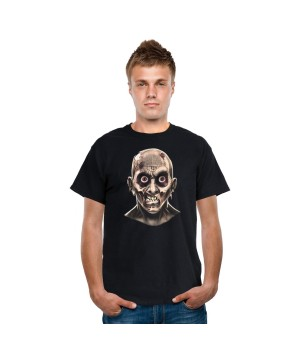 Frantic Zombie Eyes Digital Adult T-shirt