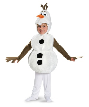 frozen olaf kids costume