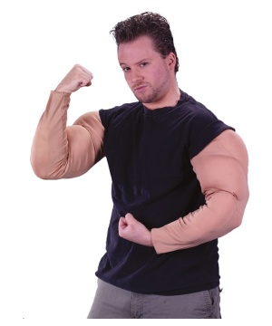 Muscle Arms Adult - Accessory Costume
