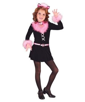 Marabou Cat Child Costume