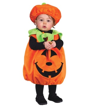 Pumpkin Plush Baby Costume