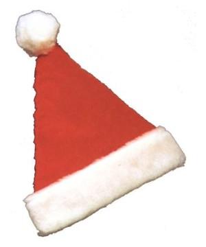 Santa Hat Plush deluxe