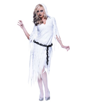 Ghostly Visitor Womens Costume