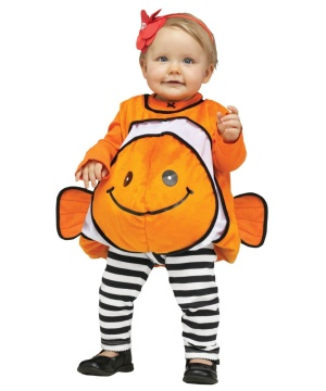 Giddy Clownfish Baby Costume