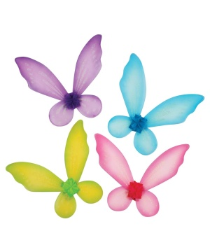 girls whimsical fairy wings