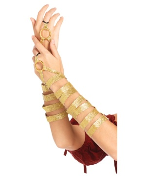 Gold Arm Wraps Accessory
