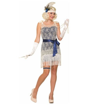 Gold Coast Socialite Womens Costume