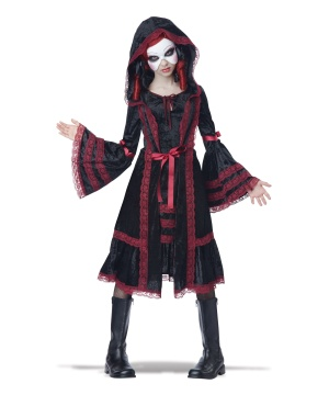 Gothic Doll Girls Costume deluxe
