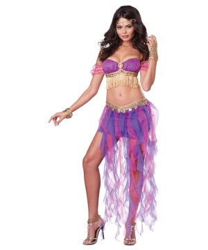 harem nights bellydancer womens costume